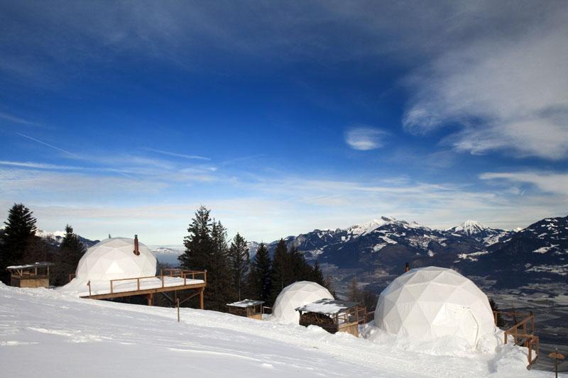 whitepod eco resort