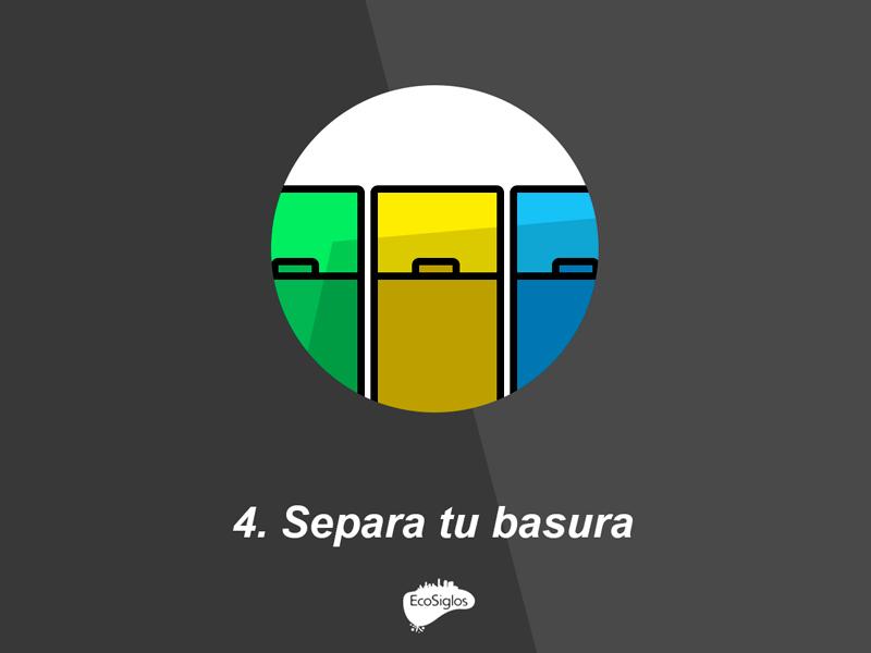 separa tu basura