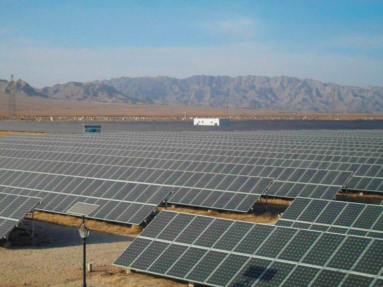 planta solar china