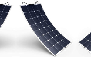 panel solar curvo plegable